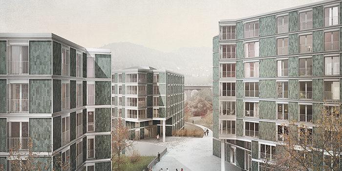 Plusenergie-Areal in Ittigen bei Bern