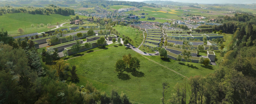 Modern wohnen mit Freiraum und Weitsicht zwischen Niederwangen und Könizbergwald in Köniz bei Bern
